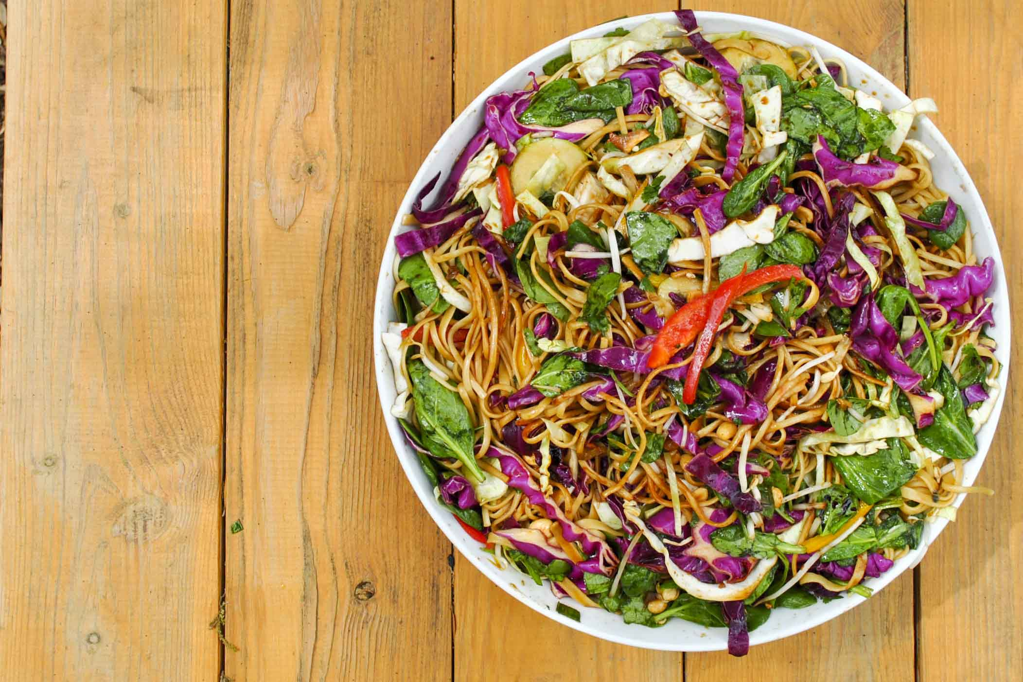 ... is what you're having {recipe: asian noodle salad} | Morgan Norris